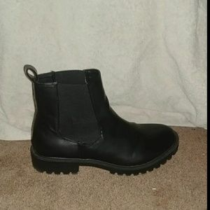Shoes - Black Boots Size 7